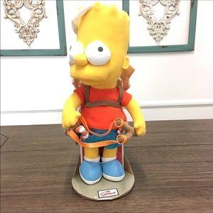 NEW The Simpson's Angel Bart Plush Christmas